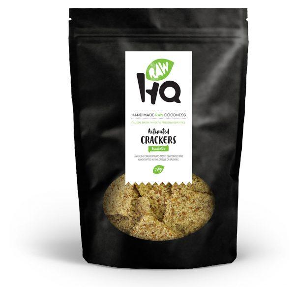 Activated Crackers Brushetta